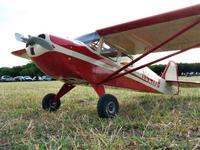 Name: Taylorcraft 4.jpg Views: 257 Size: 119.2 KB Description: Taylorcraft at my field
