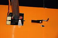 Name: 20120405_181248_IMG_2487.jpg Views: 365 Size: 114.2 KB Description: front part of the servo mount glued, aileron linkage; servo MKS DS-450