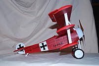 Name: fokker d2 001x2.jpg Views: 118 Size: 49.7 KB Description: Guillows Foker D2. This model made it on to the cover of Guillows 2010 catologue which was a great feeling :-)