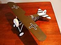 Name: fokker D8 001 copy for vh.jpg Views: 709 Size: 103.9 KB Description: Fokker DVIII, built from an old Comet plan