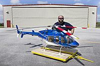 Name: Static Quarter Scale Bell 407 N407DK.jpg