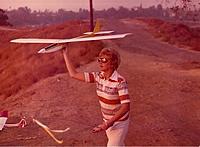 Name: Katielaunching.jpg Views: 447 Size: 405.4 KB Description: Katie launching original balsa fuselage and built-up wing Katie II proto-type