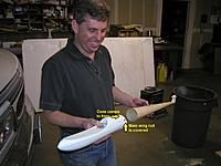 Name: Dennis nose and tail cone.jpg