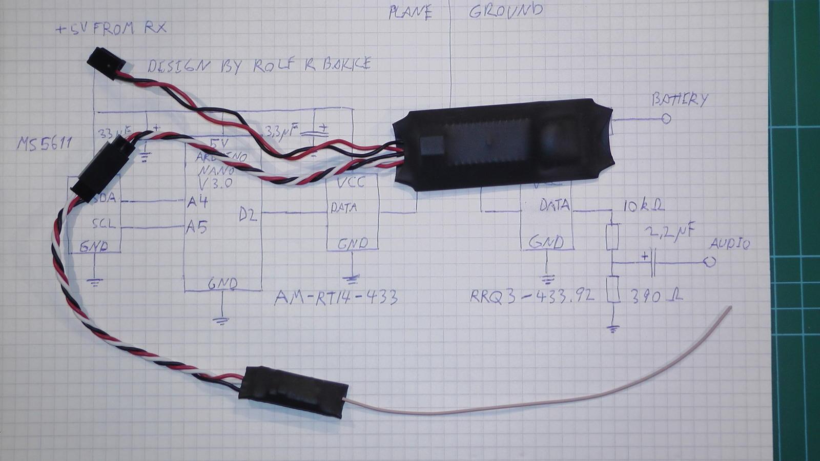 diy simple and inexpensive arduino based sailplane variometer rc rh rcgroups com