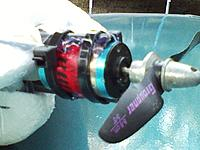 Name: 121118_0010.jpg Views: 70 Size: 108.6 KB Description: Improvised motor mount