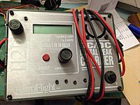"""Name: photo2.jpg Views: 66 Size: 219.4 KB Description: Astro Flight 112D charger. Bought it when it was first introduced, and picked it up at KRC 1996. Had it programmed to """"Property of Andrew..."""". Haven't used it in 10 years or more. 5 amps was a lot back then! 36 round cells! wowie!"""