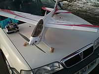 Name: CIMG0355.jpg Views: 187 Size: 67.6 KB Description: Home made skis fitted to my shark