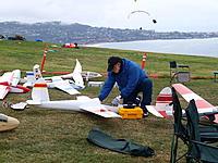 Name: RD316237.jpg Views: 67 Size: 306.9 KB Description: Gary Fenelli preparing for flight 1/4 1-26