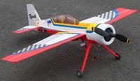 Name: Yak 54 w:cowl.jpg Views: 357 Size: 72.5 KB Description: Depron blt. 6 & 3mil. Turnagy motor flys fine w/slight wt. penalty for cowl.