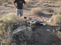 Name: Crash 1.jpg Views: 104 Size: 177.3 KB Description: The aftermath....