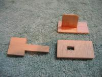 Name: Temp 1 066.jpg Views: 298 Size: 93.1 KB Description: I used the stock ply servo tray to make a beefier plug, with a tang to be used to break the velco bond.