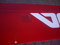 "Name: Toba flaps servo bump.jpg Views: 305 Size: 88.6 KB Description: Merrill's Servo ""Bumps"" available at www.MMGlidertech.com"
