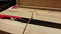 Name: 20160428_101827.jpg Views: 54 Size: 109.4 KB Description: Wing harness positioned to determine which lead goes in which wing.
