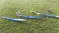 Name: 20160723_080354.jpg Views: 60 Size: 462.5 KB Description: New flock of two matched Streams and my Vortex 2.5. Now I need to get on to my other Vortex 2.5 kit to complete the set.