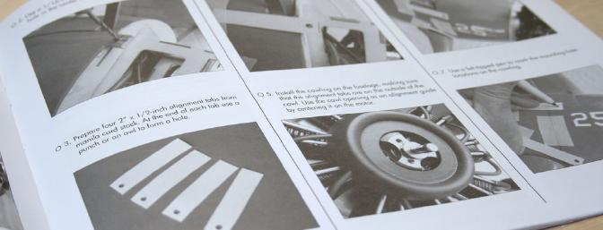 The manual is very detailed and easy to follow.  This page covers the cowling installation.