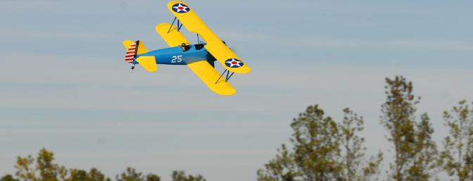Have I mentioned that the color scheme on the Stearman looks great?