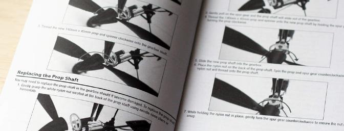 Do those pesky walls keep breaking your props and bending your prop shafts?  Turn to Page 19.