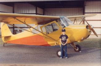 Here I am beside Dad's Champ in Enterprise, AL ca. 1981.  Looking sharp!