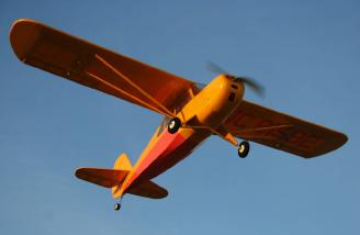 Cruising overhead.