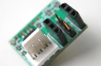 The white connector is for the X-Port connector from your airplane or the module itself.
