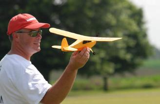 Who says big kids can't play with little toy planes?