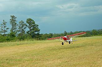 Bush planes love off-field landings, don't they?