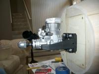 Name: IMGP0056.jpg Views: 199 Size: 54.6 KB Description: Engine Mounted