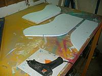 Name: Gull Wing (23).jpg Views: 135 Size: 112.8 KB Description: Use your glue gun or whatever gluing method you prefer to put the top pieces on the wing panels.