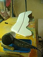 Name: Gull Wing (42).jpg Views: 130 Size: 100.1 KB Description: I use a hair dryer to speed up the drying time.