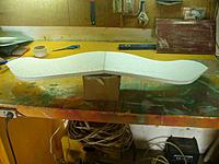 Name: Gull Wing (44).jpg Views: 139 Size: 124.3 KB Description: When the latex has dried flip the wing over and support it.