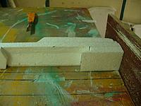 Name: GTF (35).jpg Views: 101 Size: 114.7 KB Description: Sand the front of the nose flat and square to take the firewall.