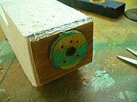 Name: GTF (40).jpg Views: 103 Size: 96.3 KB Description: Glue on the reinforcing piece. and put a smooth fillet around it all.