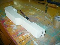 Name: GTF (43).jpg Views: 100 Size: 127.5 KB Description: Tape and paint the sides and make sure the tape sticks well to the firewall piece.