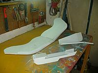 Name: GTF (47).jpg Views: 91 Size: 105.2 KB Description: We are down to 3 basic components.  wing Tail Fuselage.
