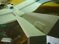 Name: Gear install 21.jpg Views: 78 Size: 123.9 KB Description: I add a step for the back guide on the tail fin for rod support.