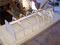 Name: Lym 15.jpg Views: 539 Size: 61.8 KB Description: The frames are dry assembled onto the keel.