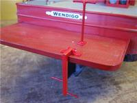 Name: Wen 97.jpg Views: 184 Size: 47.0 KB Description: The boarding ladder is folded down and ready for action