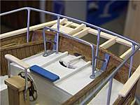 Name: TR 182.jpg Views: 94 Size: 60.1 KB Description: The aft railing was made up frome .080 brazing rod and brass stock and soldered together....