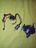 Name: 26543304_1396013610525379_798909983_o.jpg Views: 43 Size: 618.6 KB Description: I considered the HW 18A ESC and a 5200kv motor, but the motor being narrower was not securely fitting into the motor case. I was afraid it would make a plasstic soup of diff parts!!!