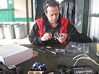 Name: IMG_1275.jpg Views: 60 Size: 88.1 KB Description: Mr. Kyosho Greece himself, fixing his own mini-z bike!