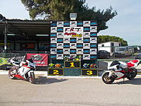 Name: DSCN4572.jpg Views: 43 Size: 1.15 MB Description: Petros rode to the track with the Yamaha on the right! His friend with the CBR1000 was riding along and helped with pics, videos and marshalling!