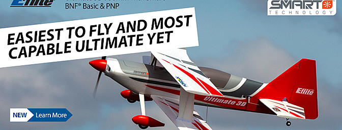 The NEW E-flite Ultimate 3D 950mm BNFB/PNP - The ULTIMATE Ultimate!