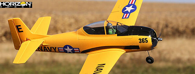 The NEW E-flite T-28 Trojan 1.1m...The more powerful, more capable & Smarter Trojan!