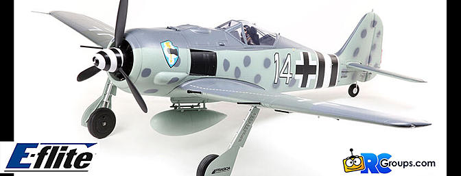 The ALL-NEW E-flite Focke-Wulf Fw 190A 1.5m...The Finest Focke-Wulf Yet!