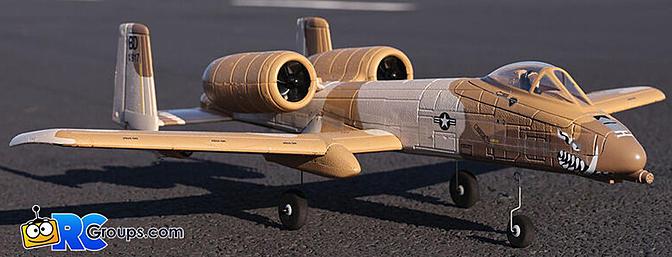 The NEW E-flite UMX A-10 Thunderbolt II Twin 30mm EDF