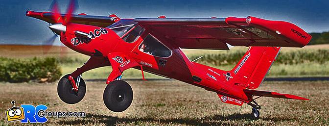 The ALL-NEW E-flite DRACO 2.0m – The Ultimate Bush Plane