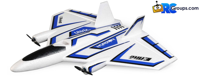 The ALL-NEW E-flite Ultrix 600mm – The Uniquely Capable Model You Never Expected!