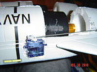 Name: DSC03809.jpg Views: 258 Size: 134.5 KB Description: Here is a shot showing the better servo (I even reversed it so it travels correctly).