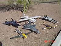 Name: Maiden Day.jpg Views: 162 Size: 137.9 KB Description: Jets and warbirds, my fleet.