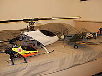 Name: Picture 040.jpg Views: 90 Size: 57.6 KB Description: T rex 450 and 600 and spitfire #1